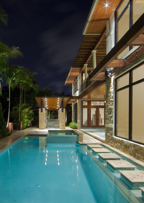 Villa pools pool builder south florida pool contractor miami swimming pool for Swimming pool construction miami